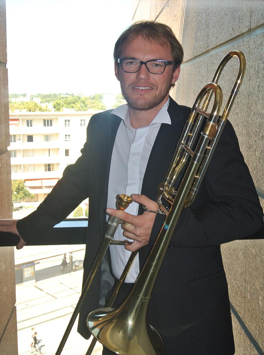Thomas Callaux trombone