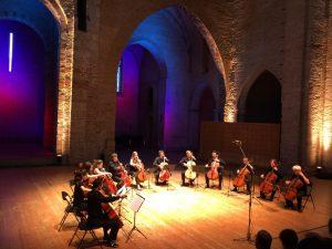 Photo Ensemble de violoncelles